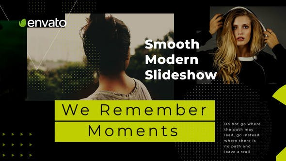 Thumbnail for Glatte moderne Diashow