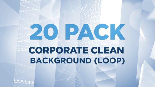 Thumbnail for 20 PACK Corporate Clean Background (Loop)