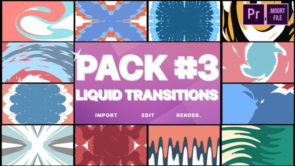 Thumbnail for Liquid Transitions Pack 03 | Premiere Pro MOGRT