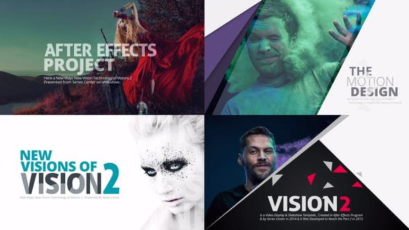 Thumbnail for VISION 2 | Slideshow & Motion Title