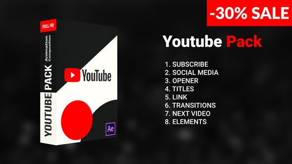 Cover Image for Pack Youtube