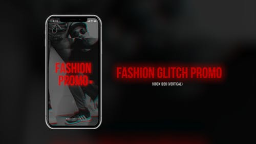 Fashion Glitch Promo (Vertikal)