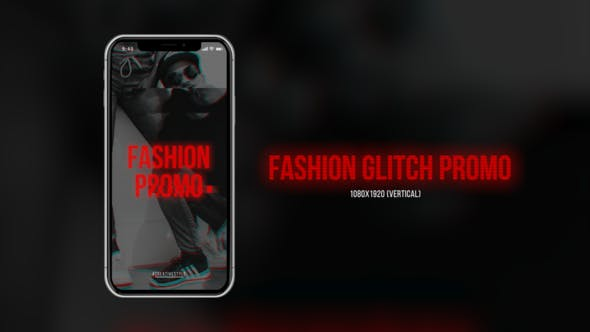 Thumbnail for Fashion Glitch Promo (Vertical)