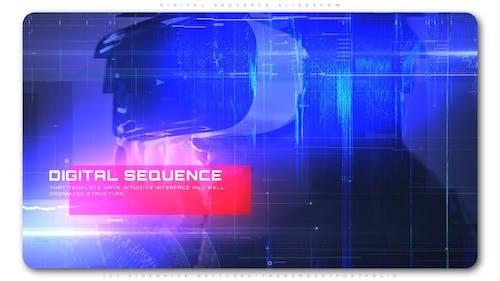 Digital Sequence Slideshow