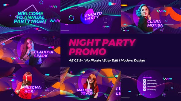 Thumbnail for Night Party Promo