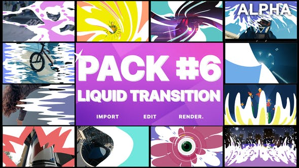 Cover Image for Liquid Transitions Pack 06 | Motion Graphics Pack