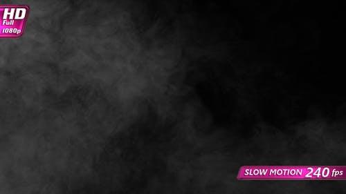 Black Screen In White Smoke