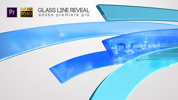 Thumbnail for Glass Line Reveal - Premiere Pro