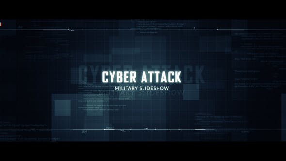 Thumbnail for Cyber Attack Military Slideshow