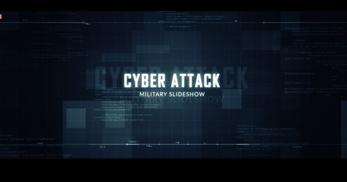 Download Cyber Attack Military Slideshow by R-motion