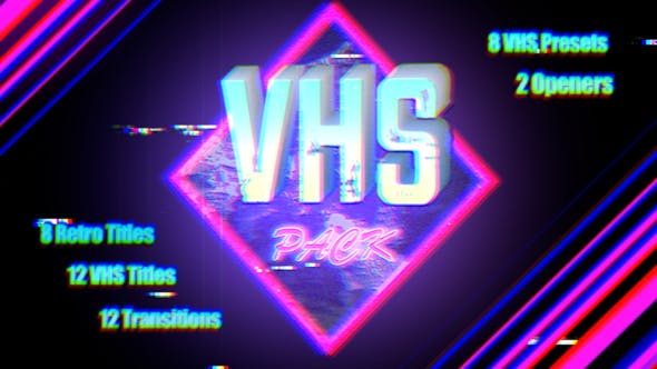 Thumbnail for VHS Pack | Final Cut
