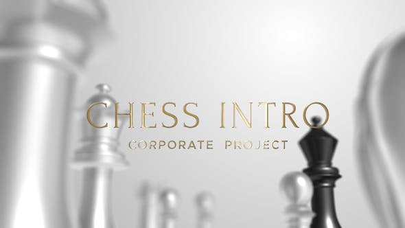 Thumbnail for Chess Intro Corporate | After Effects Template