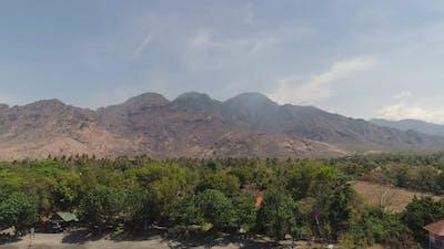 Mountain Landscape Town Mountains