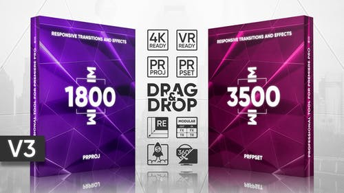 Transitions Presets Pack