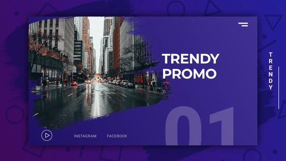 Thumbnail for Trendy Modern Promo