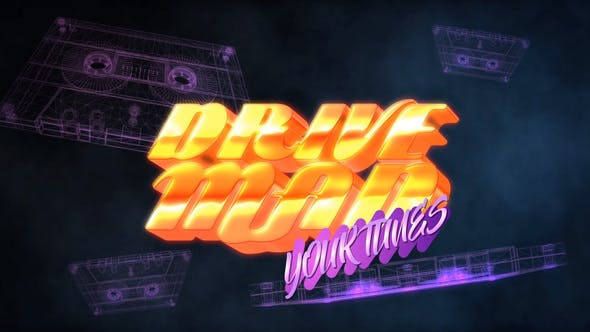 Thumbnail for 80S Casette Logo Intro