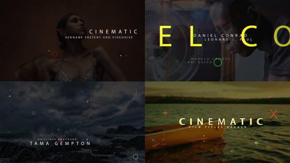 Thumbnail for Film Titles Opener V2