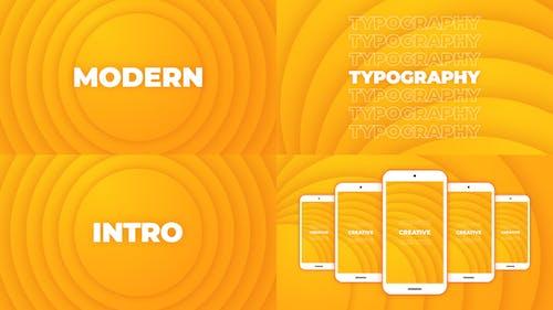Modern Typography Intro