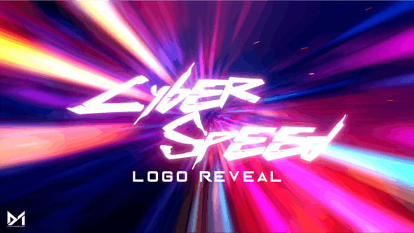 Thumbnail for Cyber Speed Logo Reveal