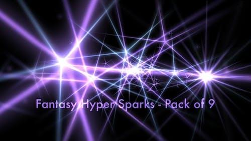 Fantasy Hyper Sparks - Pack of 9