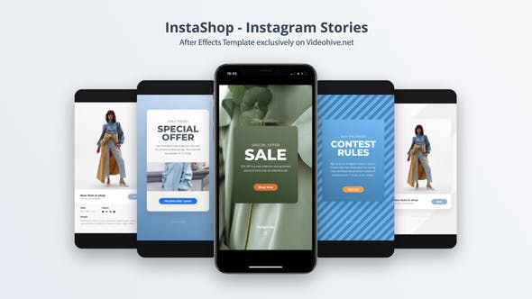 Thumbnail for InstaShop - Instagram Stories