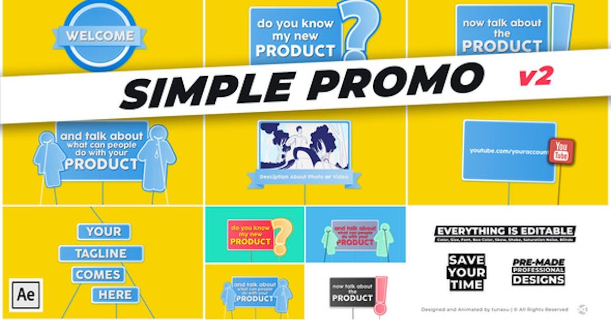 Download Simple Promo by tunaxu