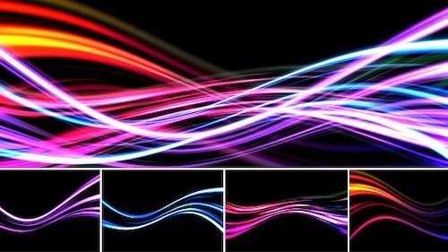 Abstract Light Streaks