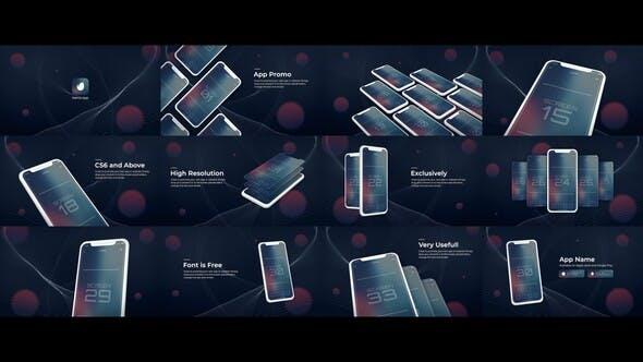 Thumbnail for Mobile App Promo | UI Prsentation