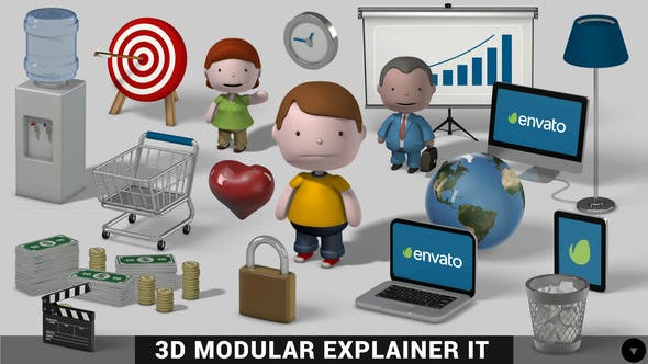 Thumbnail for 3D Modular Explainer Kit