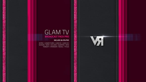 Thumbnail for Glam TV - Broadcast Pack Pro