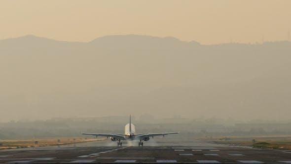 Thumbnail for Airplane Landing