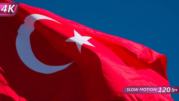 Thumbnail for Flag Of Turkey Fluttering In The Wind