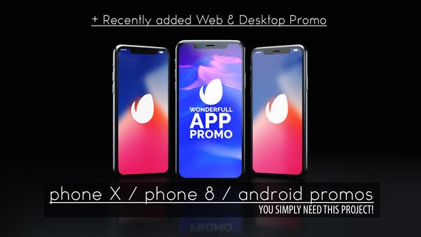 Thumbnail for Wonderful App Promo and Website Promo