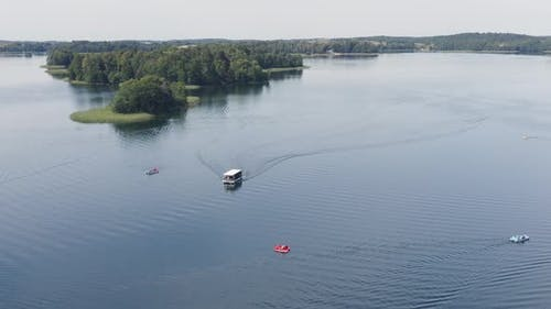 Lake in Summer Time