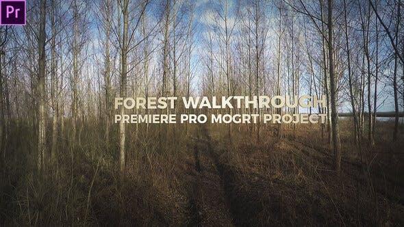 Thumbnail for Forest Walkthrough (Mogrt)