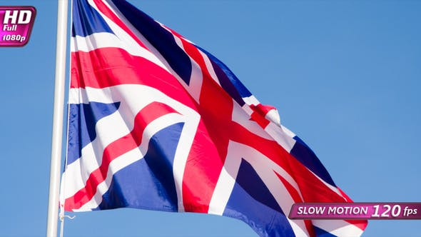 State Flag Of The Great Britain
