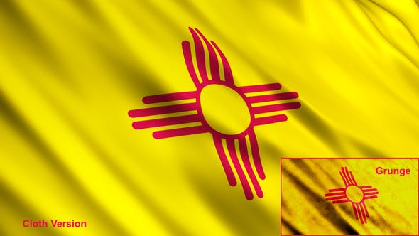 Thumbnail for New Mexico State Flags