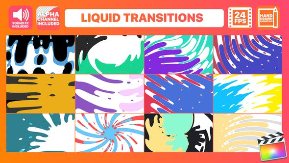 Thumbnail for Pack Transitions Liquide | FCPX