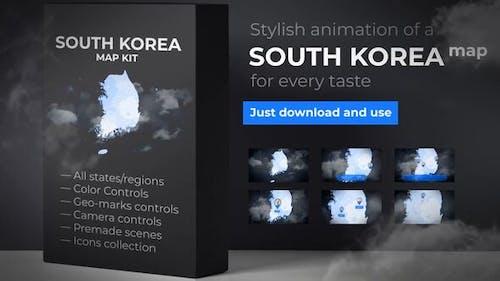 South Korea Map - Republic of Korea Map