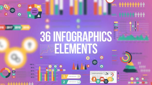 Cover Image for Infographics - 36 Elements