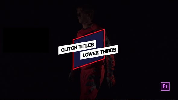 Thumbnail for Glitch Titles & Lower Thirds // MOGRT