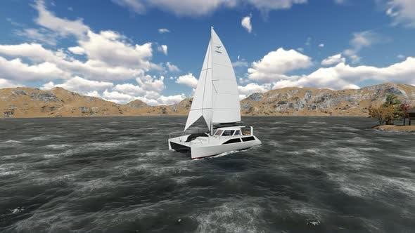 Thumbnail for The sailing ship is sailing