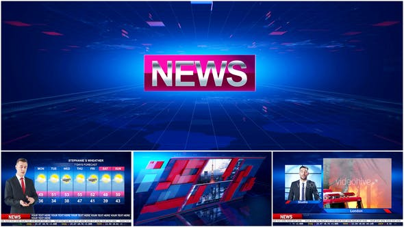 Broadcast Design Opener