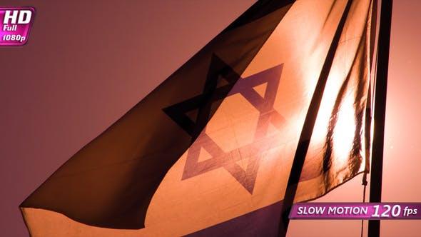 Thumbnail for Israeli Flags At Sunrise