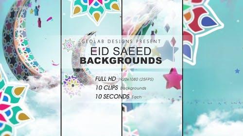 Eid Saeed Backgrounds l Eid-al-Fitr Backgrounds l Eid-al-Adha Backgrounds