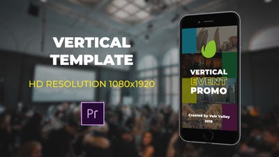 Vertical Event Promo