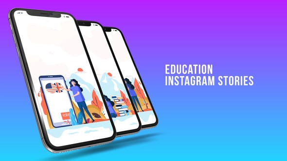 Thumbnail for Historias de Instagram - Educación