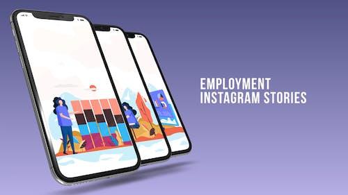 Instagram Stories - Employment