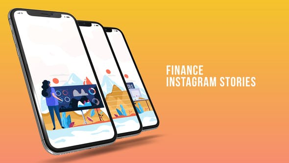 Instagram Stories - Finance