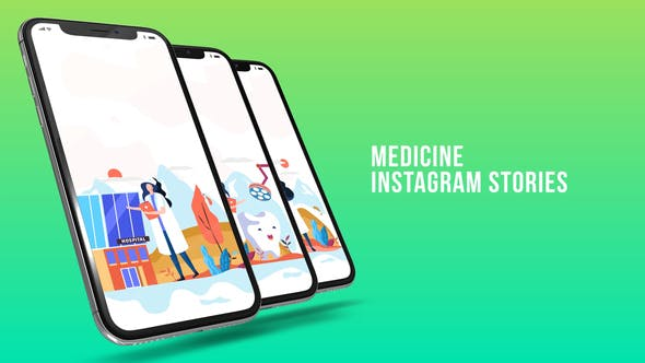 Thumbnail for Instagram Stories - Medicine
